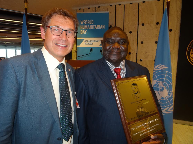 Central African Republic's Religious Leaders Receive Prestigious Honor