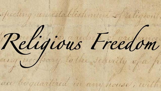 Working in partnership on religious liberty