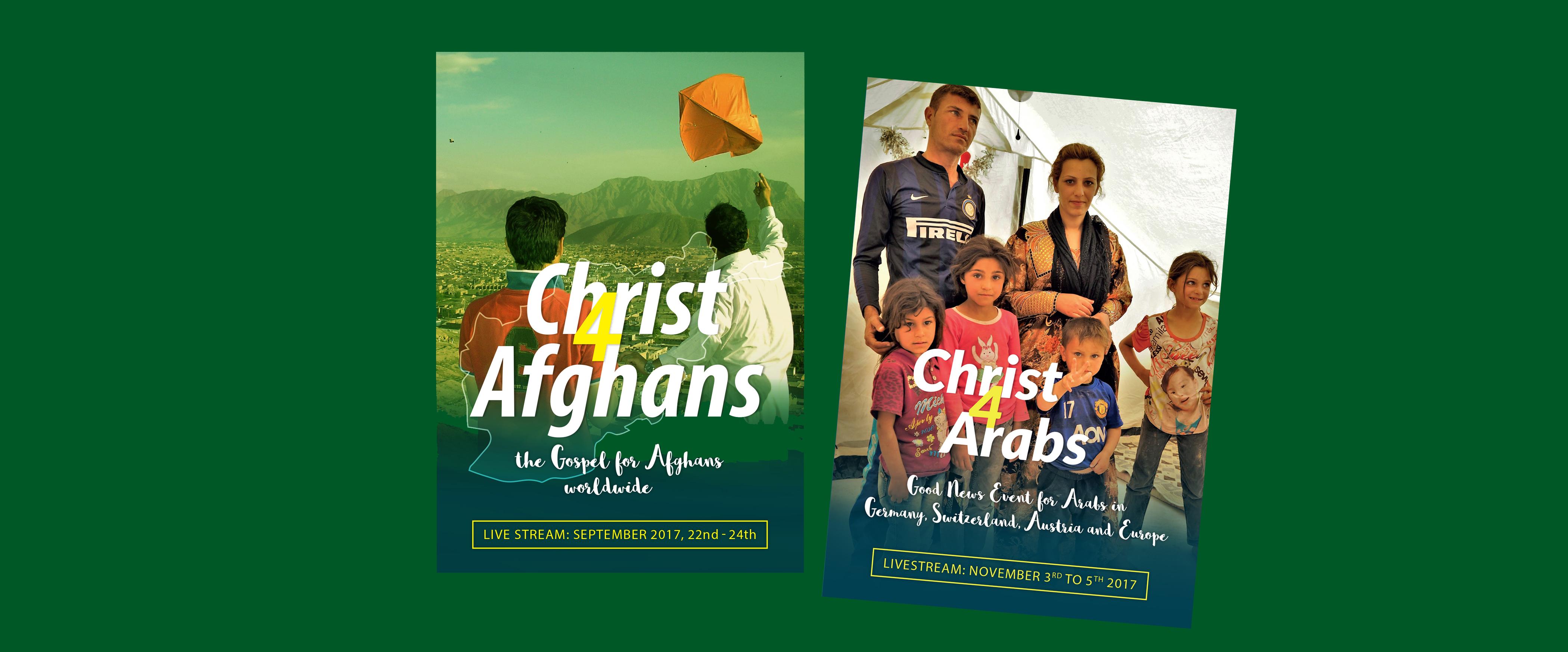 Christ4Afghans and Christ4Arab Livestream