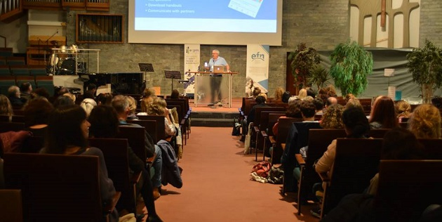 "Christians working against sexual slavery gathered in Berlin to ""speak with one voice"""