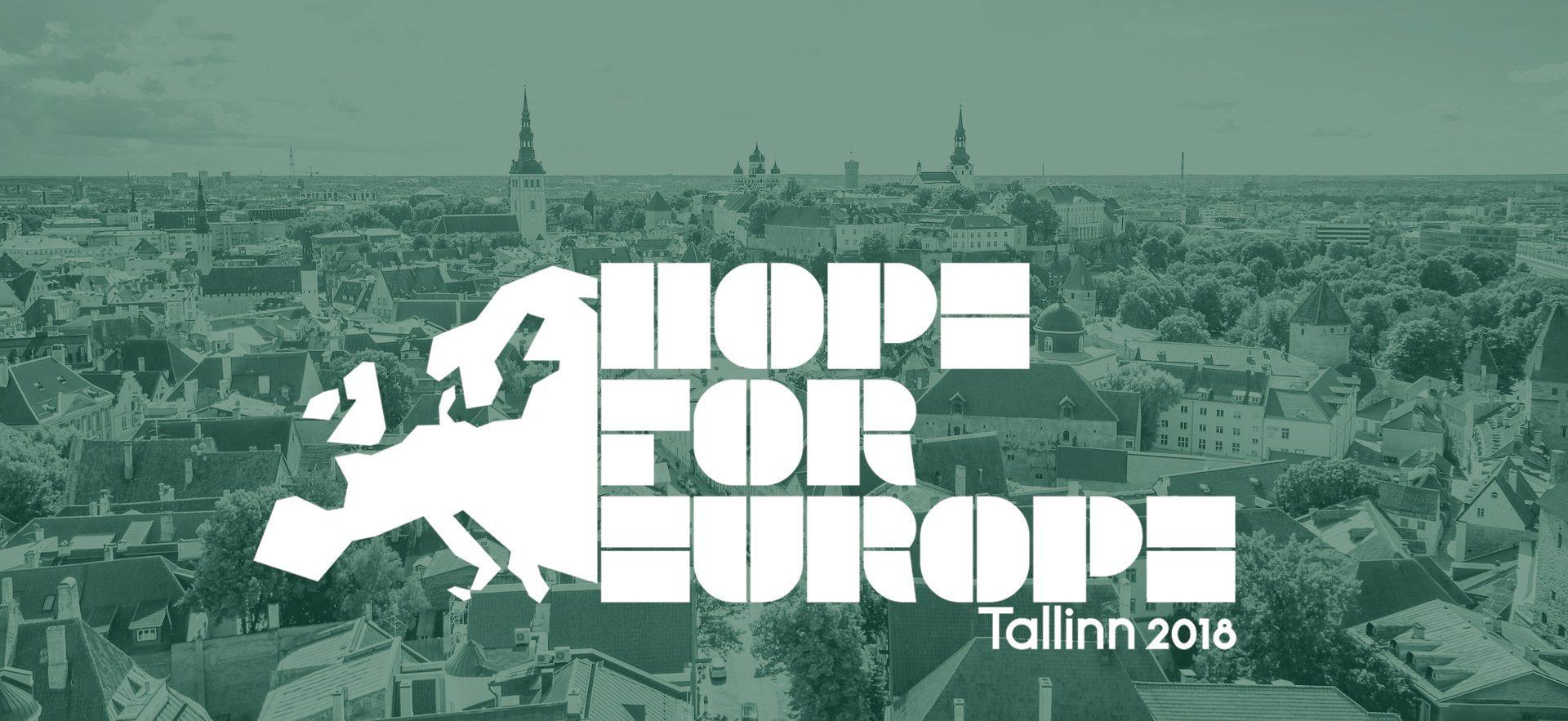 Update: Hope for Europe, Tallinn 2018