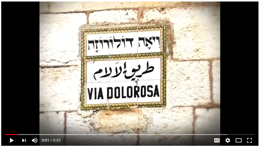 The Via Dolorosa App