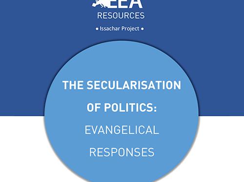 THE SECULARISATION OF POLITICS