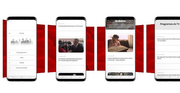 An app connects evangelicals in Portugal