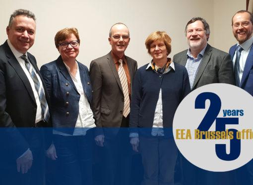 MEDIA RELEASE: EEA celebrates 25 years of engaging European Union