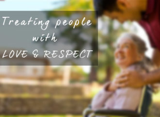 Treating people with love and respect