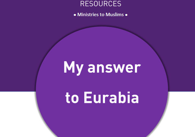 My answer to Eurabia