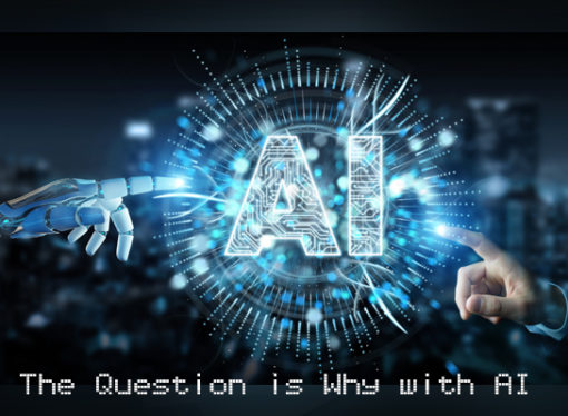 The Question is Why with AI