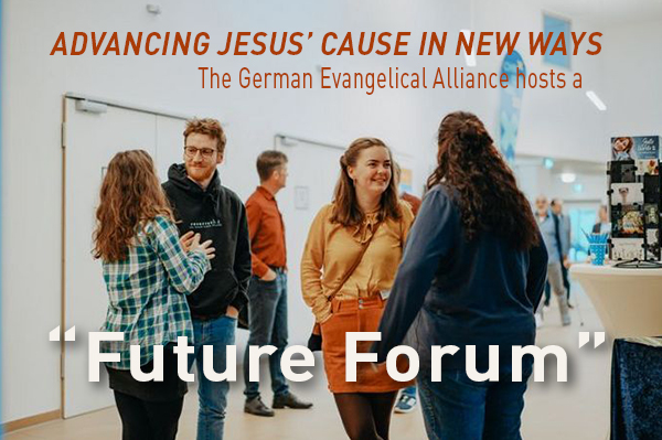 """""""Future Forum"""" – Advancing Jesus' cause in new ways"""