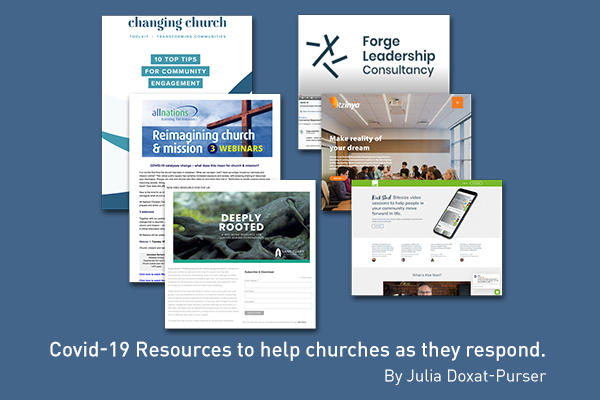 Covid-19 Resources to help churches as they respond.