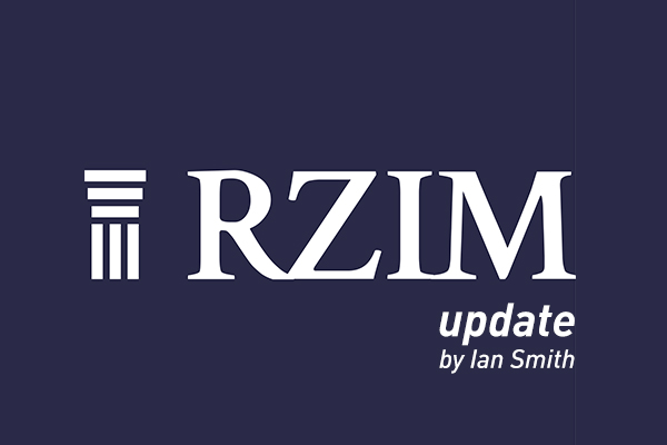An update from Ravi Zacharias International Ministries (RZIM) and the Europe Team