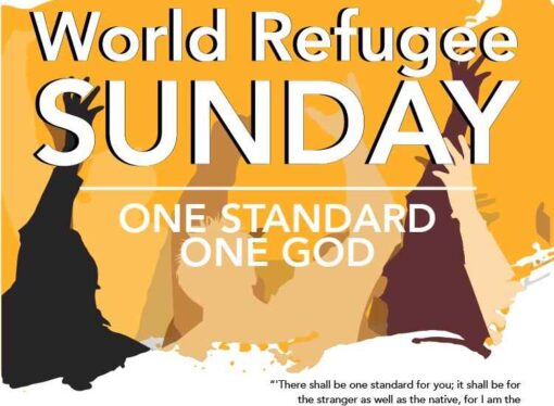 World Refugee Sunday 2020 is coming up!