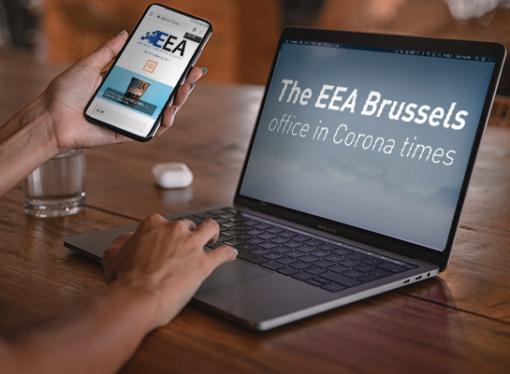 The EEA Brussels office in Corona times