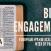 Evangelical Alliance Week Of Prayer 2021: Bible Engagement – YouVersion bible reading plan now available!