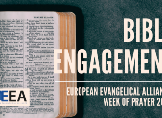 Join us for the Evangelical Alliance Week of Prayer 2021 starting 10 January 2021!