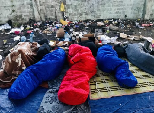 Winter and the inability to come to an agreement are directly endangering thousands of refugees in Bosnia and Herzegovina