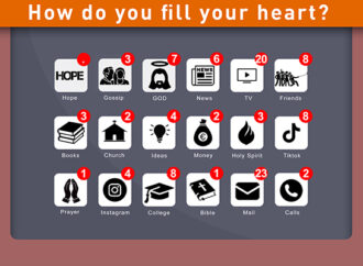 How do you fill your heart?