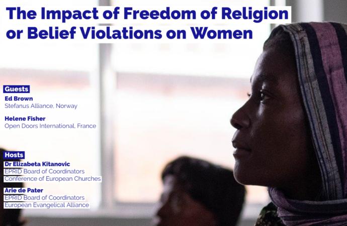 EPRID Webinar – The impact of FoRB violations on women
