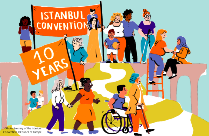 The Istanbul Convention is 10 years' old – EEA Statement, June 2021