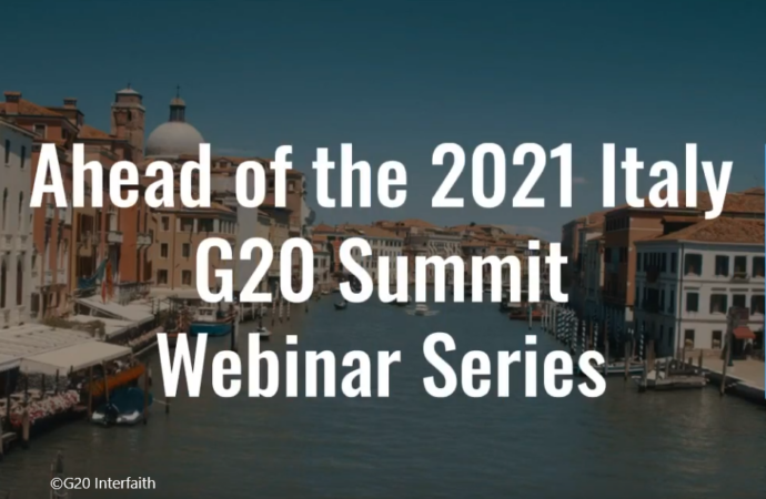 Ahead of the 2021 Italy G20 Summit Webinar Series