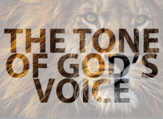 THE TONE OF GOD'S VOICE
