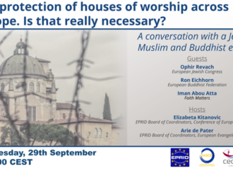 EPRID Webinar – The protection of houses of worship across Europe. Is that really necessary?