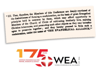 """WEA Kicks Off Commemoration of """"175 Years of Uniting Evangelicals for Prayer, Mission and Justice"""""""