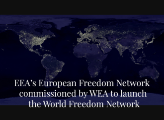 EEA's European Freedom Network commissioned by WEA to launch the World Freedom Network