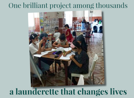 One brilliant project among thousands – a launderette that changes lives